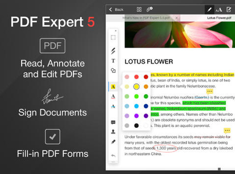 PDF Expert 5 Brings A New Look, AirDrop Support And More