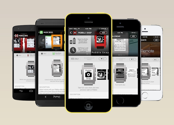 A Centralized App Store Is Coming To The Pebble iOS App Early Next Year