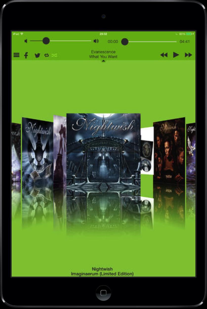 The Universal Album Flow Pro 4.0 Music App Includes A Fresh, New iOS 7 Design