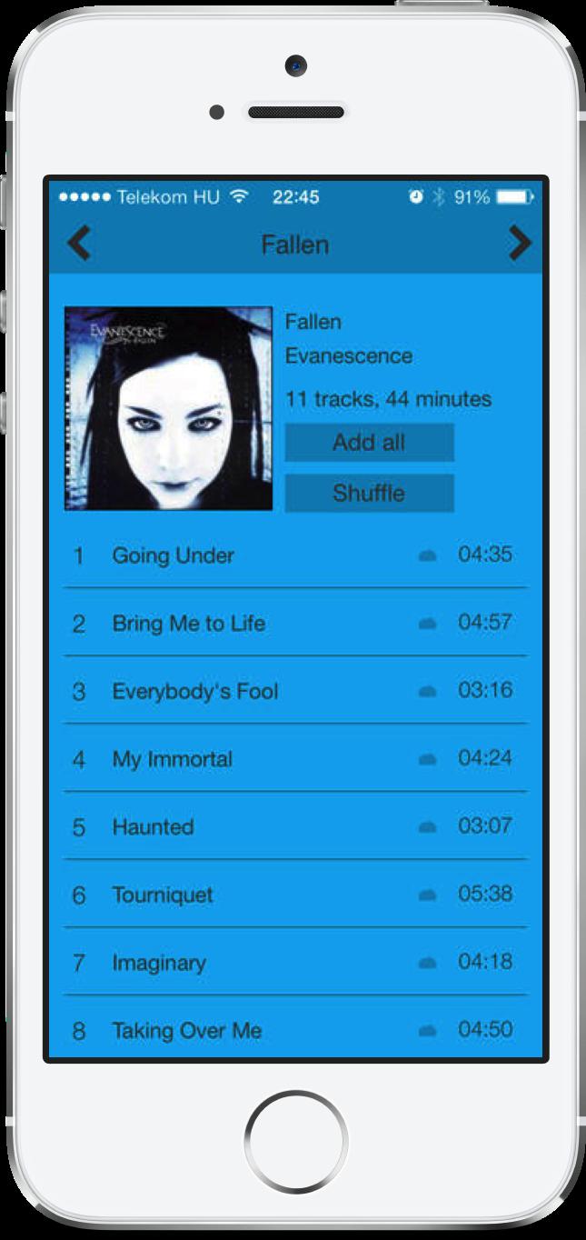 Album Flow Pro for iPhone