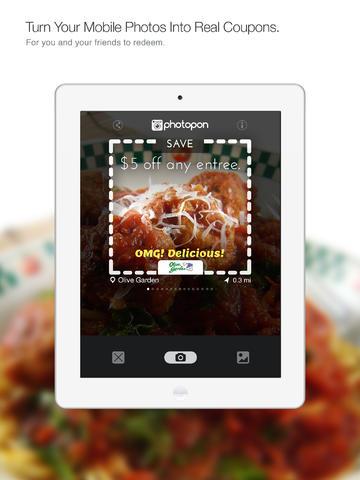 Photopon also works on iPad