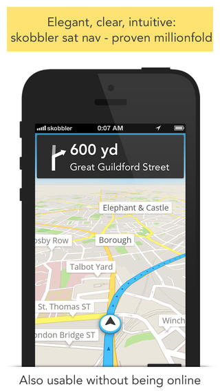 Skobbler's GPS Navigation 5.0 Includes A New Design And Plenty Of New Features