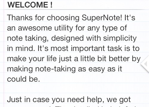 Super Note Update Offers A New Design And More Features