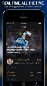Update To TheScore Brings A Personalized And Real-Time Sports News Feed