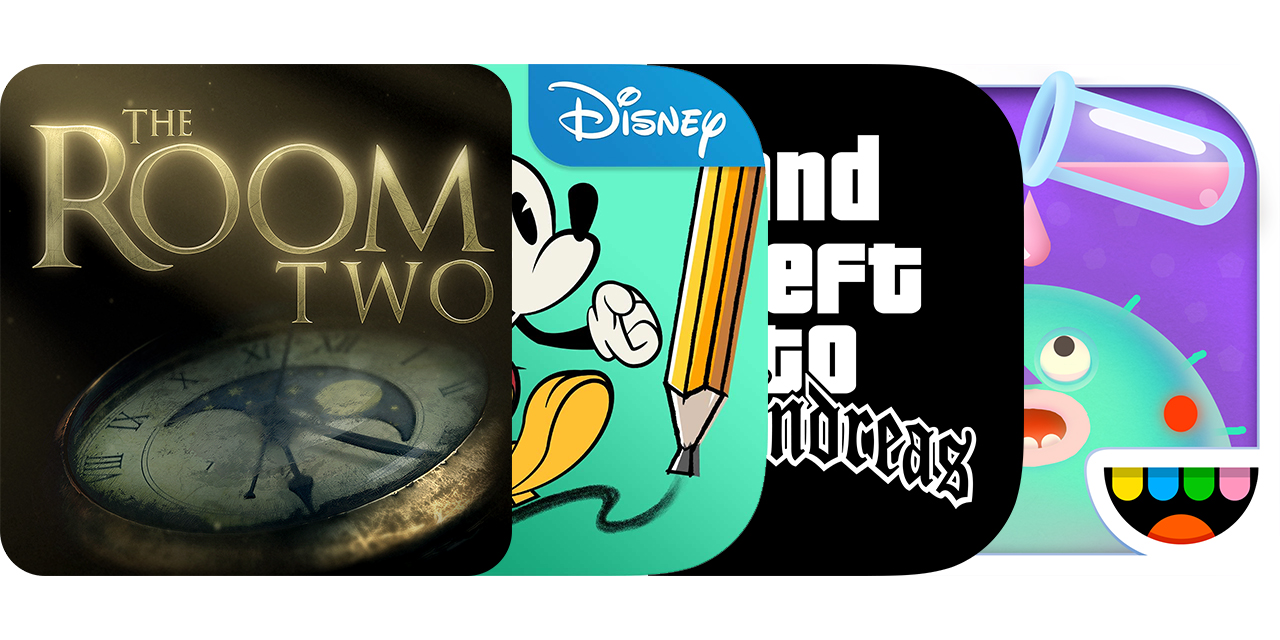 Today's Best Apps: The Room Two, Mickey Mouse: Mash-Up, Grand Theft Auto: San Andreas And More