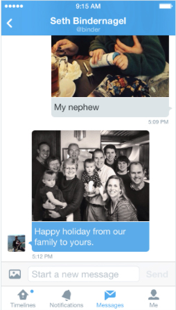 Twitter Update Brings Photo Support To Direct Messages, UI Changes And More