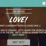 Be 1 With The Crowd And Be Part Of The Big Picture With The 1 Second Everyday App