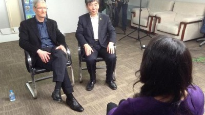 Apple CEO Tim Cook Talks China Mobile Deal In A Rare Television Interview