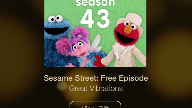 Day 10 Of Apple's 12 Days Of Gifts Offers 'Great Vibrations' Episode Of 'Sesame Street'