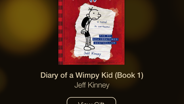 Day 8 Of Apple's 12 Days Of Gifts Lets You Get Book 1 Of 'Diary Of A Wimpy Kid' For Free