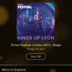 Day 9 Of Apple's 12 Days Of Gifts Offers Kings Of Leon's iTunes Festival EP For Free