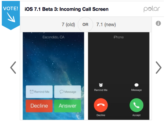 A Look At The Key Differences Between Apple's iOS 7 And iOS 7.1 Beta 3