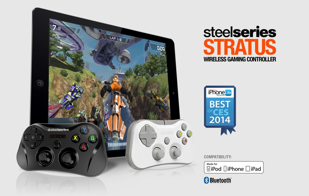 The Stratus Wireless Gaming Controller For iOS Launches At A Lower Price
