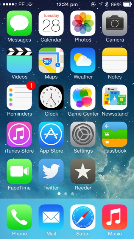 Cydia Tweak: OS X-ify Your iPhone's Battery Icon With MacBattery For iOS