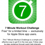 Get The 7 Minute Workout Challenge App For Free Through The Apple Store App