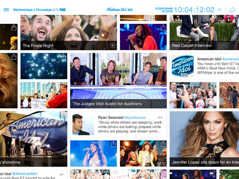 Who's Next? Find Out With The Newly Updated Official iOS App Of 'American Idol'