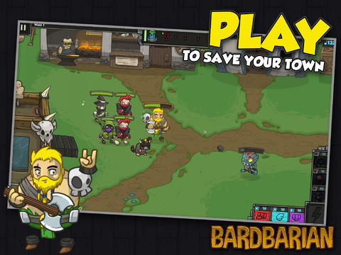 Engage In Battle Using Your Amazing Axe Guitar Solos In Bulkypix's Bardbarian