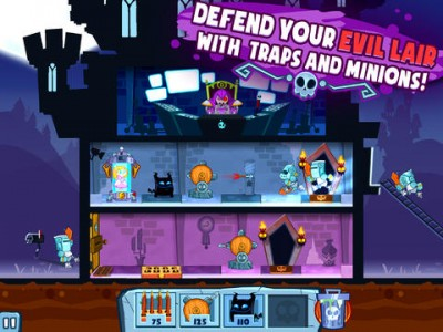 It's Good To Be Bad In Adult Swim's Castle Doombad Reverse Tower Defense Game