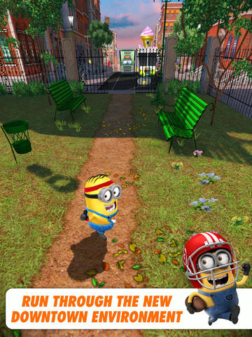 Despicable Me: Minion Rush Goes Downtown And Into The Bank Of Evil In New Update