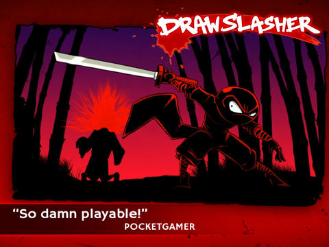 The Dark Ninja Returns To Take On The Pirate Monkey Zombies In Draw Slasher
