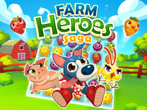 Candy Crush Saga Creator King Releases New Farm Heroes Saga Match-3 Game