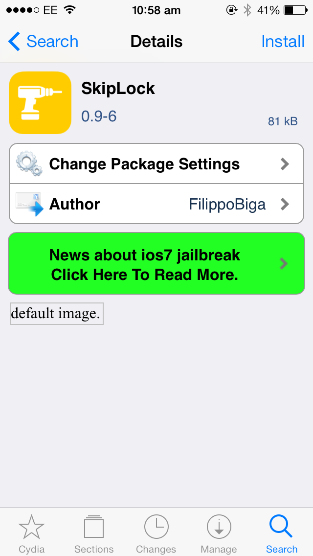 Cydia Tweak: Bypass The Lock Screen Entirely Using SkipLock