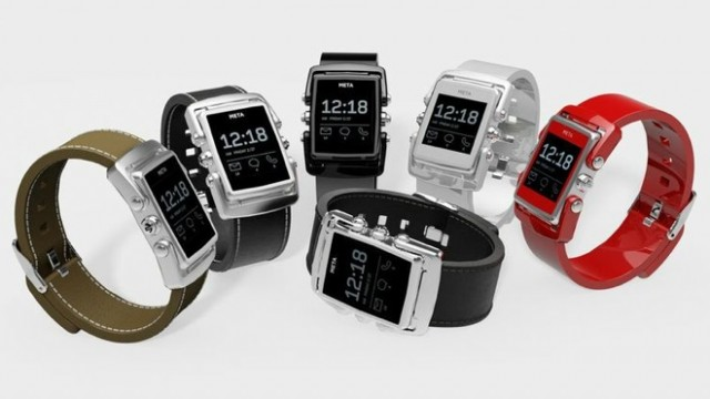 Smart Watch-Maker Meta Hopes To Take On Pebble With New Premium Product
