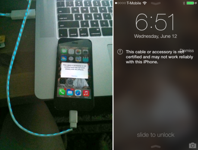 Cydia Tweak: Enable Compatibility With Unauthorized Lightning Cables
