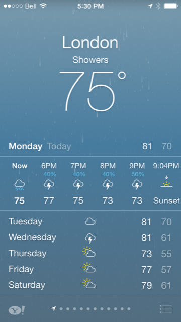 weather icons on iphone cydia tweak bring a live weather icon to your ios 7 16468