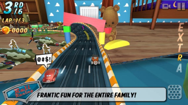 Ready, Set, Go! Miniature Mayhem Awaits In Rail Racing For iOS