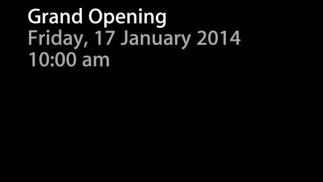 Apple's Brisbane Retail Store Set For Grand Opening On Jan. 17