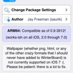 Cydia Tweak: WinterBoard Gets Updated For iOS 7, ARM64-iDevices