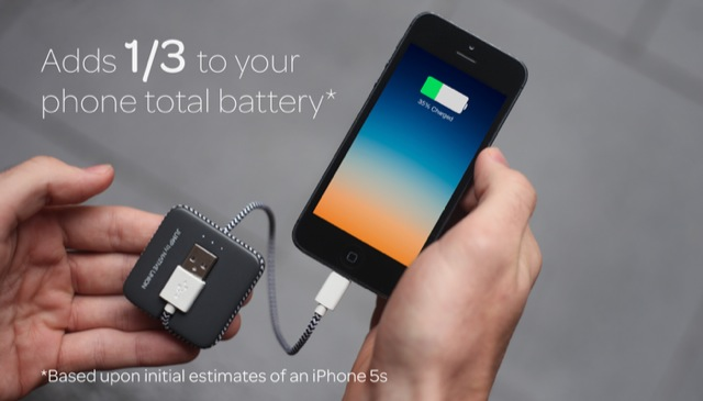 Kickstarted: JUMP iPhone Charger Offers A Lightning Cable Plus Power Bank