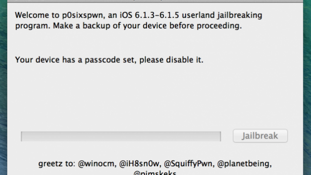 P0sixspwn For iOS 6.1.3-5 Now Available For All The Windows Users Out There