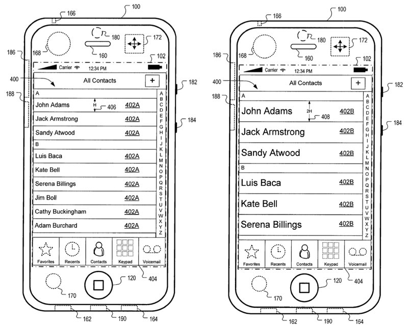 Our Future iPhones Could Alter Touch Controls Based On User Movement