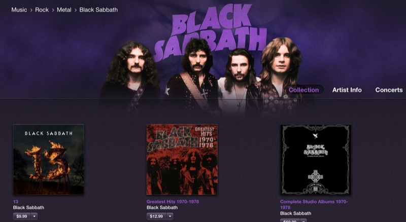 It's About Time: Black Sabbath's 1970s Albums Finally Reach The iTunes Store