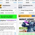 Cydia Tweak: SwipeSelection Gets Updated For iOS 7, 'Pro' Tweak Available Now