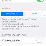 Cydia Tweak: Bring The Unlock 'Click' Back With UnlockSound7