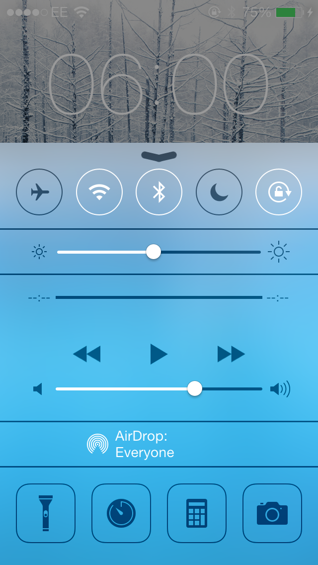 Cydia Tweak: Re-Map Control Center's Clock Icon Using CCClockOpenToAlarm