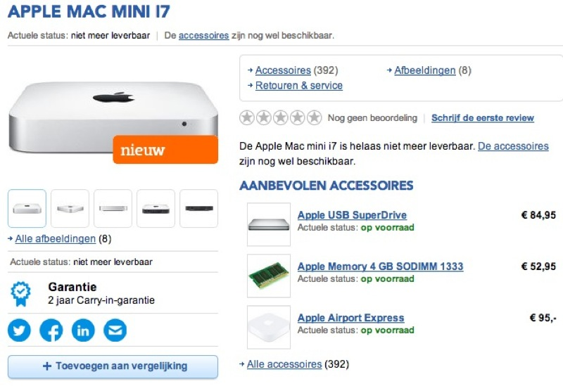 Refreshed Mac mini Said To Be Incoming As Mac Pro Online Orders Slip