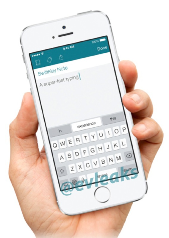 SwiftKey Virtual Keyboard To Launch For iOS In A Dedicated App