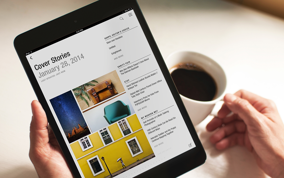 Flipboard Gets Updated On iOS, Rolls Out Revamped Cover Stories Experience