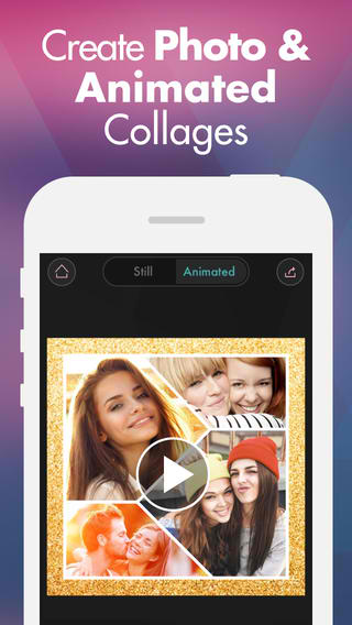 Fuzel 2.0 Introduces First Ever Animated Photo Collage Creation Tool For iOS