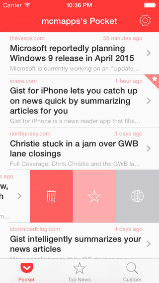 News-Summarizing App Gist Goes 2.0 With Pocket Integration And More Features