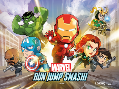 The Avengers Assemble In Marvel Run Jump Smash