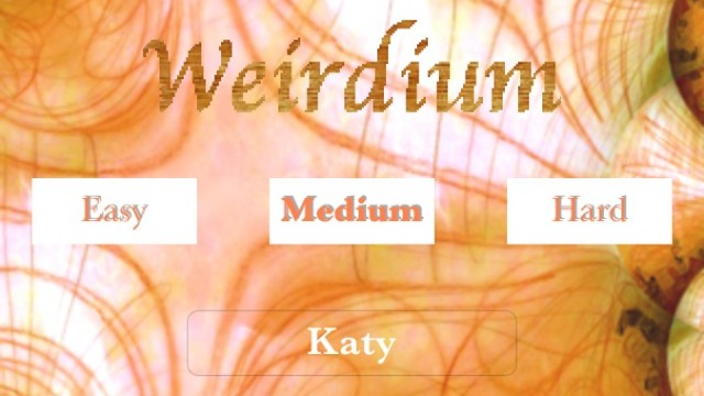 Quirky App Of The Day: Dodge The Strange In Weirdium