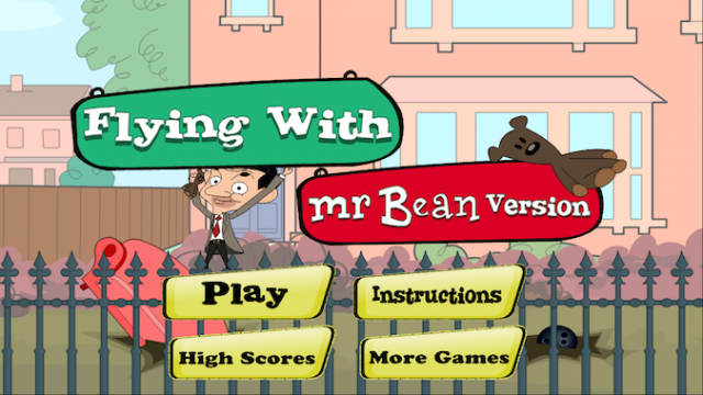 Quirky App Of The Day: Fly Together With Mr. Bean And His Faithful Teddy Bear