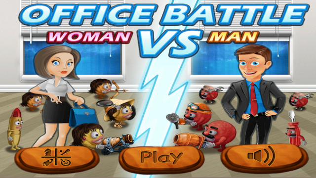 Quirky App Of The Day: Defend Your Computer In Office Battle - Woman Vs Man