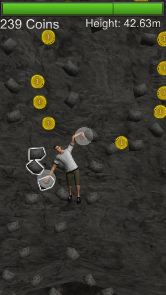 Quirky App Of The Day: Move Up The Mountain One Handhold ...