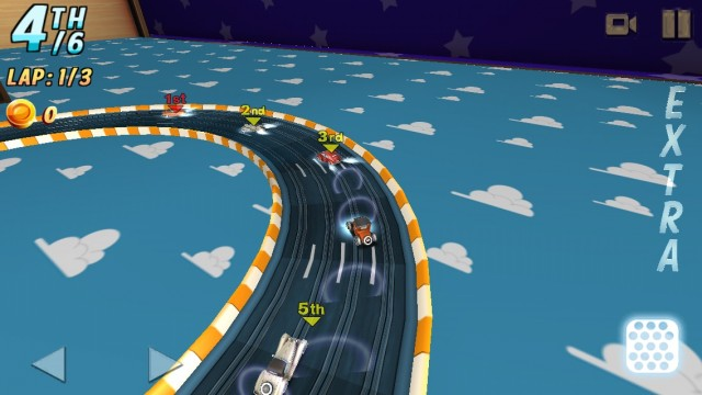 Enjoy Miniature Racing Mayhem In Rail Racing